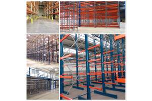 Пропонуємо послуги по монтажу/ремонту/демонтажу складських стелажів: