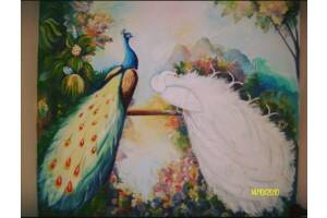 Разрисую ваши стены в красочные и веселые краски жизни. Цены разные, зависит от сложности вашей задумки.