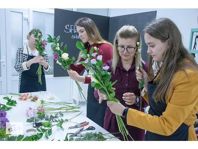 Школа флористики SFLOWERS Лучшие курсы по флористике в западной Украине- объявление о продаже   в Украине
