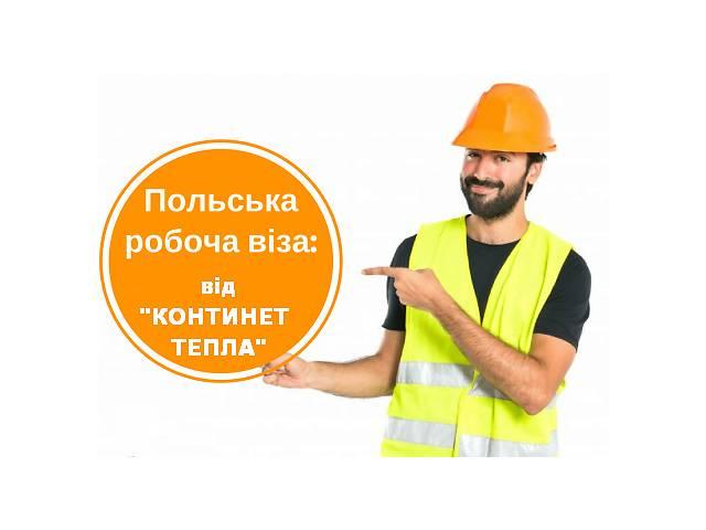 купить бу Совестная помощь в открытии рабочей Польской визы D05  в Украине