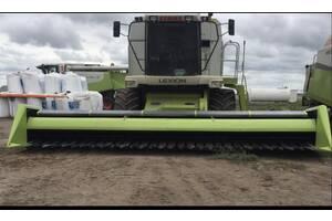 Услуги по уборке ранних-поздних зерновых комбайнами Claas Lexion