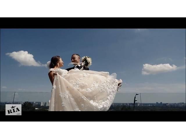 купить бу Свадебная видеосъемка, видеооператор, съемка видео, видеомонтаж в Киевской области