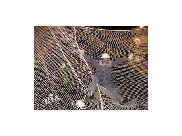 продам Сетка защитно-улавливающая (ЗУС) для строек, сетка оградительная капрон бу в Киеве