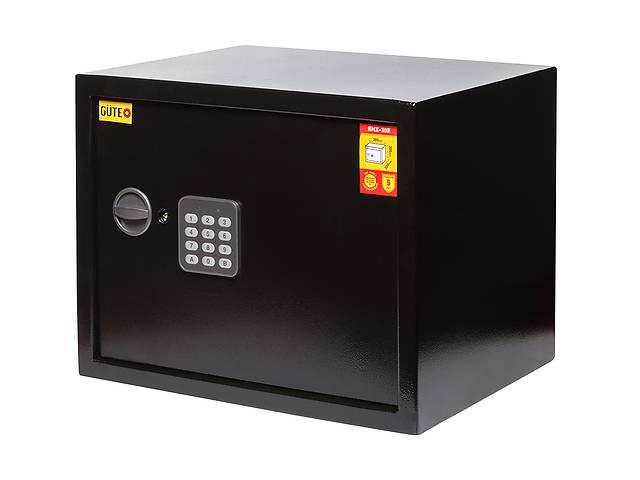 купить бу Сейф GUTE 30E для офиса с кодовым замком (ШхВхГ: 38Х30х30 см. ) в Львове