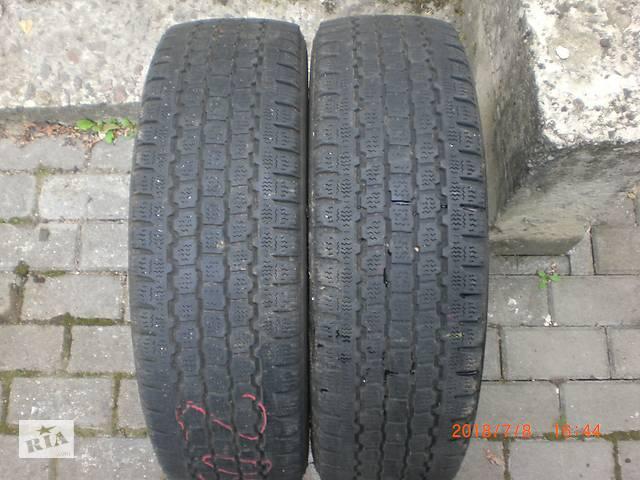 продам Б/у шины зимние Bridgestone 205/65/16c ( 2шт.) цена за пару. бу в Луцке