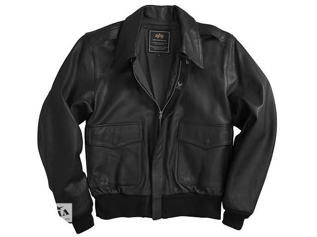 продам Шкіряна льотна куртка A-2 Goatskin Leather Jacket бу в Львові