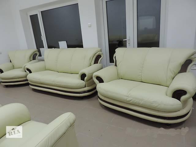 бу шкіряний комплект PALERMO 3+1+1.кожаный уголок,комплект, кожаный диван в Дрогобыче