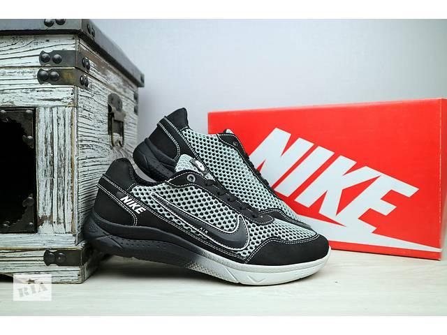 1cd4d41f Мужские кроссовки сетка Nike Серый 10852