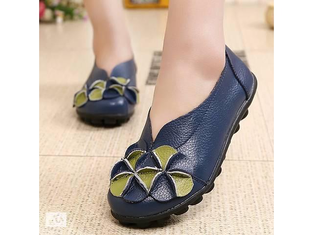 купить бу Нові жіночі туфлі, лофери з натуральної шкіри в Дніпрі (Дніпропетровськ)