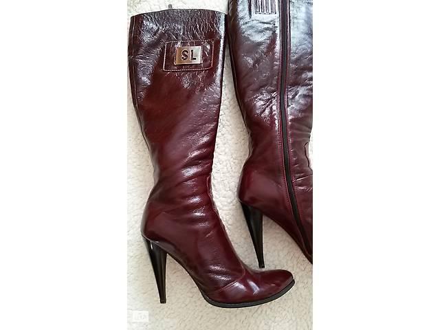 c0d0affbd бу Сапоги женские кожаные высокие, фирмы MARIO MUZI (Италия, оригинал). р