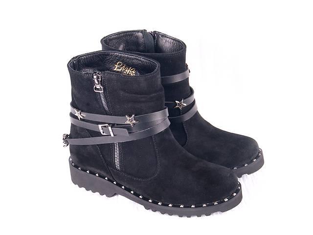купить бу Женские кожаные сапоги 00250 в Мелитополе