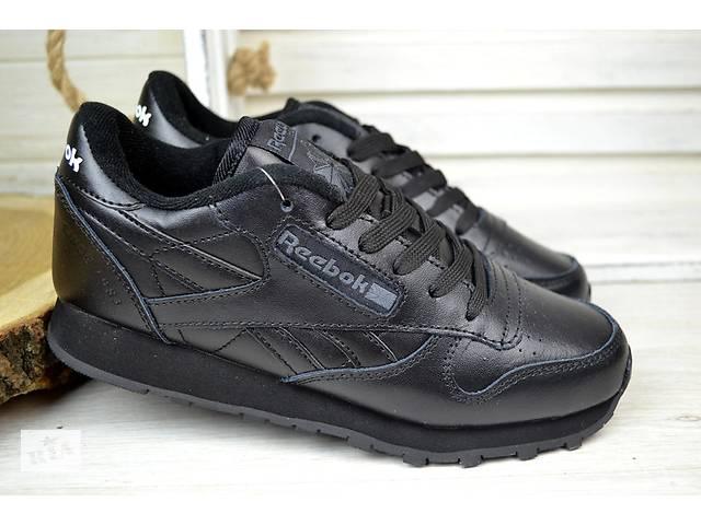a9e261087f0bec бу Жіночі кросівки Reebok Classic чорні рібок в Дніпрі (Дніпропетровськ)