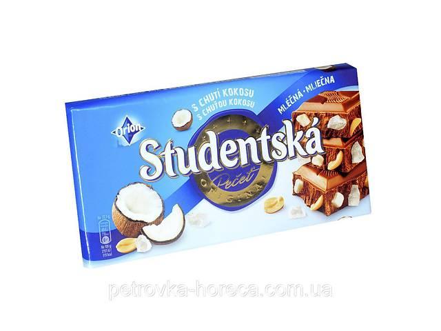 Шоколад Studentska s Chuti Kokosu