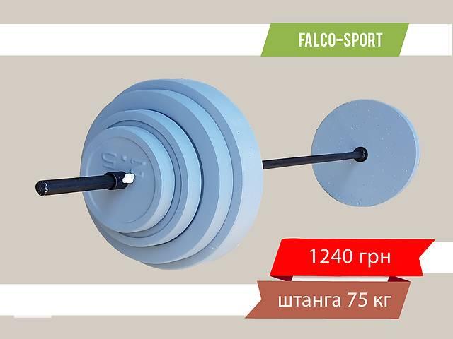 купить бу Штанга разборная 75 кг, гриф 25 мм в Николаеве