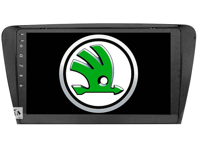 купить бу Штатная магнитола головное устройство для Skoda Octavia A7 от DAKOTA 4гб 64гб DSP CAN адаптер в комплекте. Экран 10 IPS в Киеве