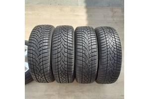 Шини 215/65/16 Dunlop Winter Sport 3D  2х8 mm 2x6.5mm протектор зимова гума