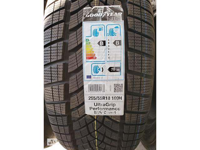 купить бу Шины зимние Goodyear Ultra Grip Performance 255 / 55 R18 в Ромнах
