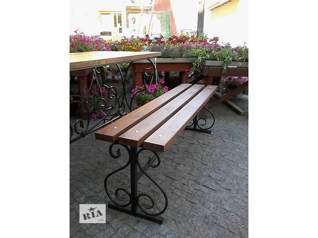 купить бу Скамейка садовая кованая. в Житомире