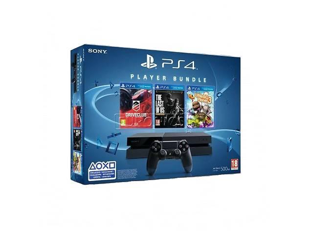 продам Sony PlayStation 4 + 3 гри (Bundle) бу в Дружковке