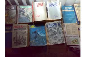 Советские периодические журналы: Юность, Радуга, Звезда Востока, Роман-газета