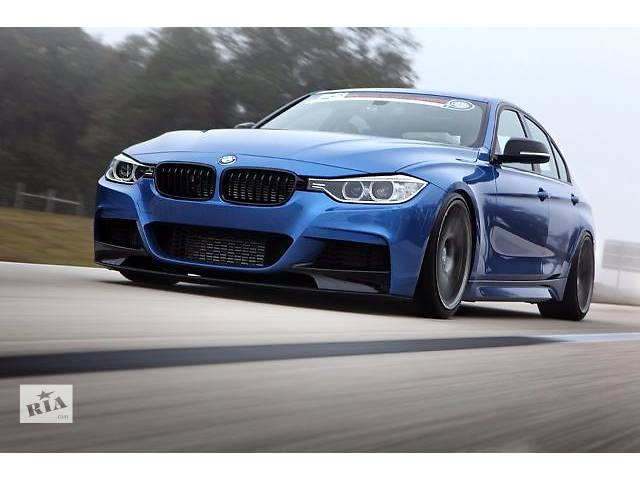 купить бу Сплитер юбка губа тюнинг BMW F30 F31 M Sport Paket стиль M-Performance в Луцке