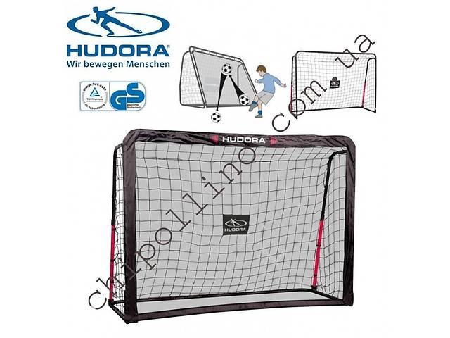 купить бу Футбольные ворота-тренажер Hudora Rebound 213х153 см в Киеве
