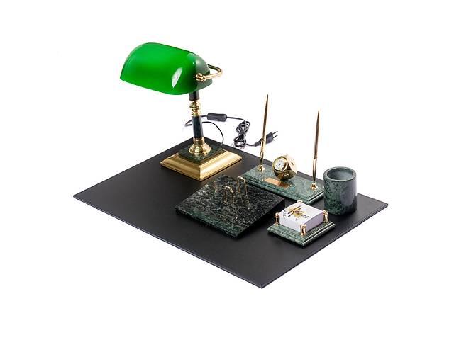 """купить бу Настольный набор для руководителя мраморный на 9 предметов """"Элит"""" BST 540200 в Дубні"""