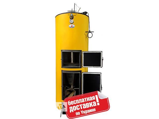купить бу Стальной котел на твердом топливе Буран -12 У ГВС в Виннице