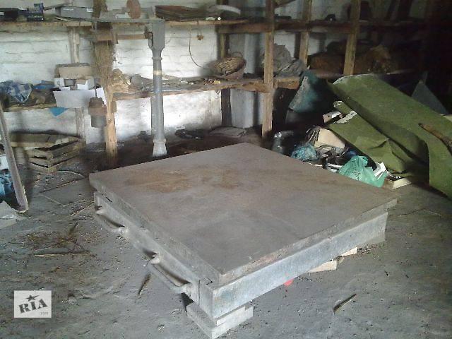 купить бу Стационарные платформенные механические весы на 3т в Донецке