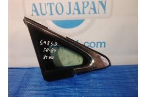 Стекло боковое глухое FR переднее правое LEXUS RX350/450 09-15