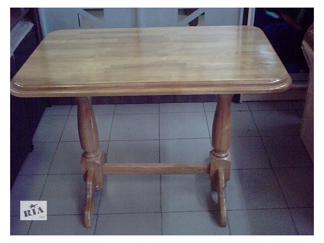 Стол кухонный из дерева ДУБ (+видео)- объявление о продаже  в Киеве