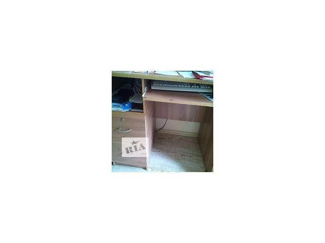 купить бу Стол офисный компьютерный с выдвижные ящиками в Черкассах