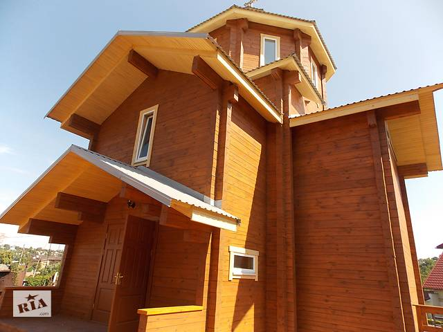 бу Строительство деревянных и каркасных домов (не СИП)  в Украине