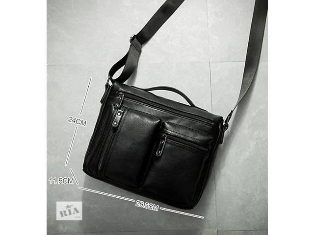 купить бу Стильная и удобная мужская сумка через плечо. Варианты есть в Киеве