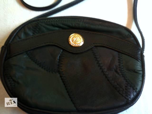 купить бу Новая сумка кроссбоди из натуральной кожи в Львове