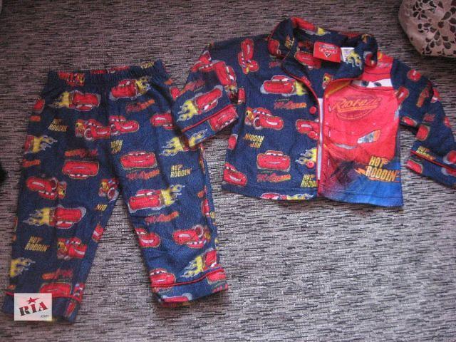 купить бу супер крутая пижамка с тачками моднику disney на 18 мес в Харькове