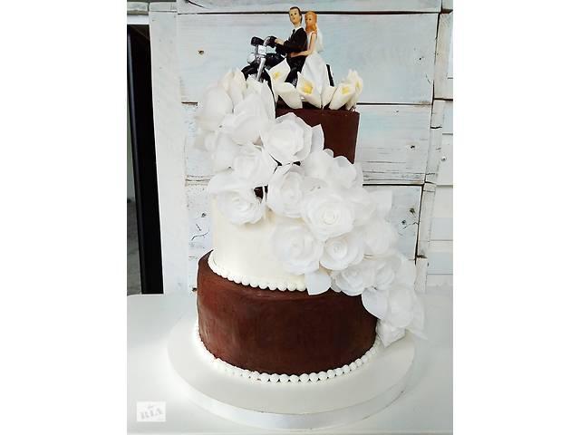 Свадебные торты на заказ, короткие сроки, свежие продукты- объявление о продаже  в Киеве