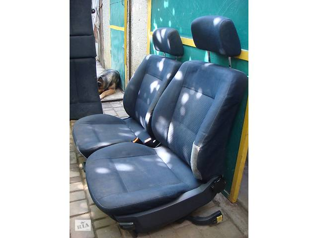купить бу Сиденья,сидения, салон, кресла Audi A6 C4 95гв. темно-синий жаккард в Ужгороде