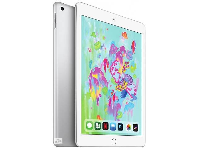 Планшет Apple iPad A1893 Wi-Fi 32GB Silver- объявление о продаже  в Киеве