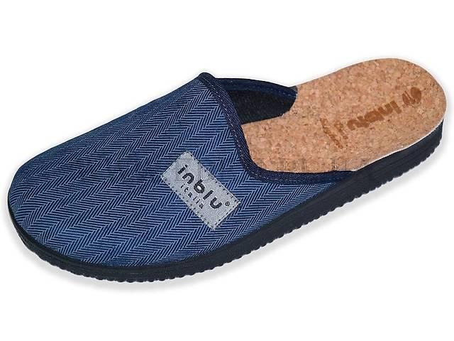 Тапочки мужские Inblu 28-3Q синие- объявление о продаже  в Полтаве