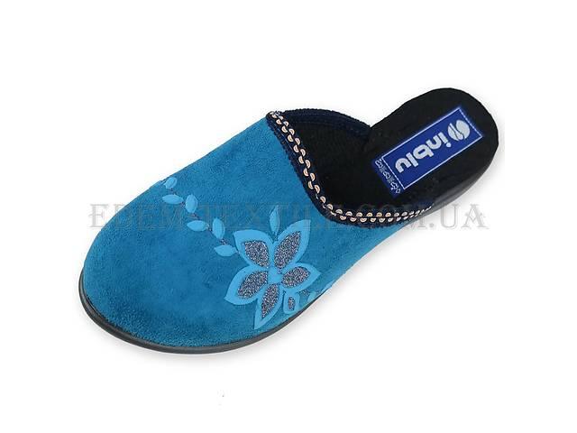 Тапочки женские Inblu NR-1Q светло-синие- объявление о продаже  в Полтаве