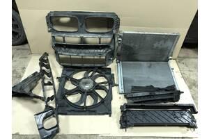 Телевизор BMW X5 E70 БМВ Воздуховод Х5 Е70 Установочная панель