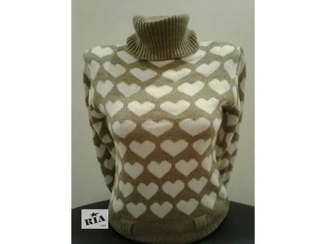 бу Тёплый свитер 70%акрил, 30% шерсть в Одессе