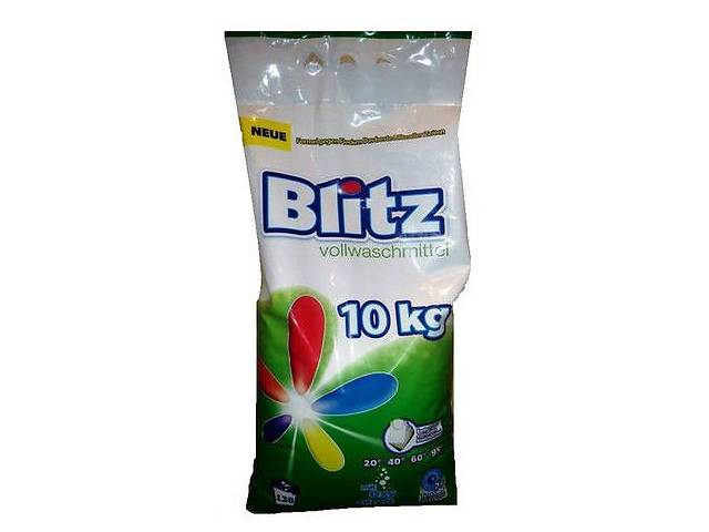 Стиральный порошок Blitz 10 кг/138 стирок- объявление о продаже  в Ровно