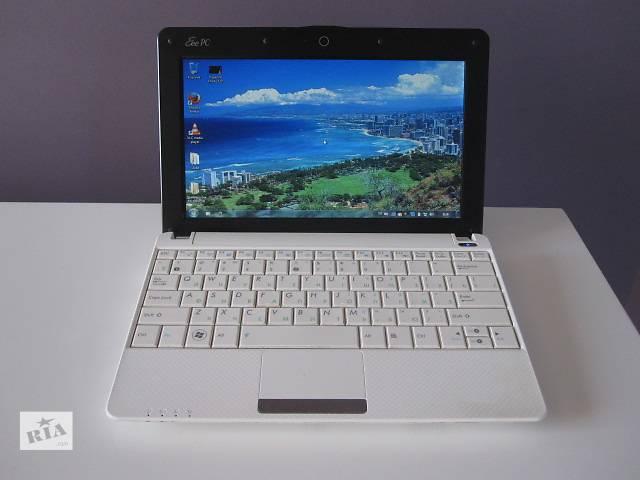 бу Тонкий белый нетбук Asus 1001PXD, 230Gb, WiFi, вебкамера, video 256Mb в Киеве
