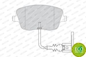 Тормозные колодки, к-кт. VW POLO (9N_) / SEAT CORDOBA (6L2) 2001-2015 г.
