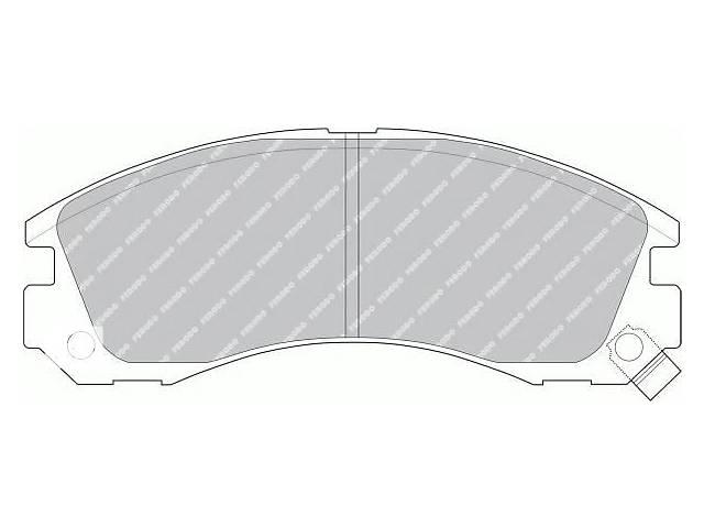 купить бу  Тормозные колодки комплект для авто MITSUBISHI OUTLANDER/PAJERO/GALANT в Черновцах