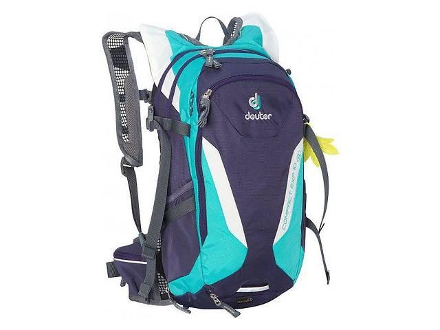 бу Рюкзак Deuter Compact EXP 10 SL (Синий с бирюзовыми вставками blueberry-mint) в Сумах