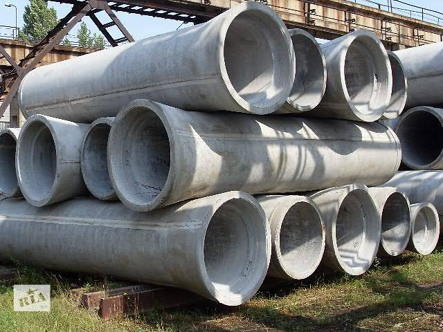 Трубы железобетонные безнапорные различного диаметра- объявление о продаже  в Гнивани