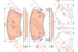Тормозные колодки комплекты Opel Insignia